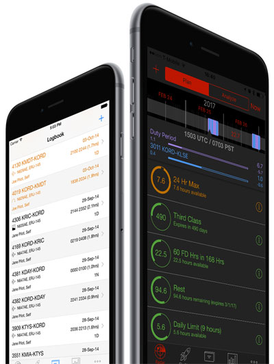 LogTen Pro Pilot Logbooks on iPhone