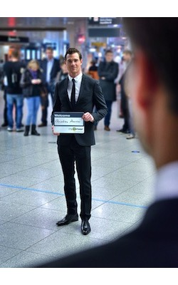 Airport Shuttle pickup