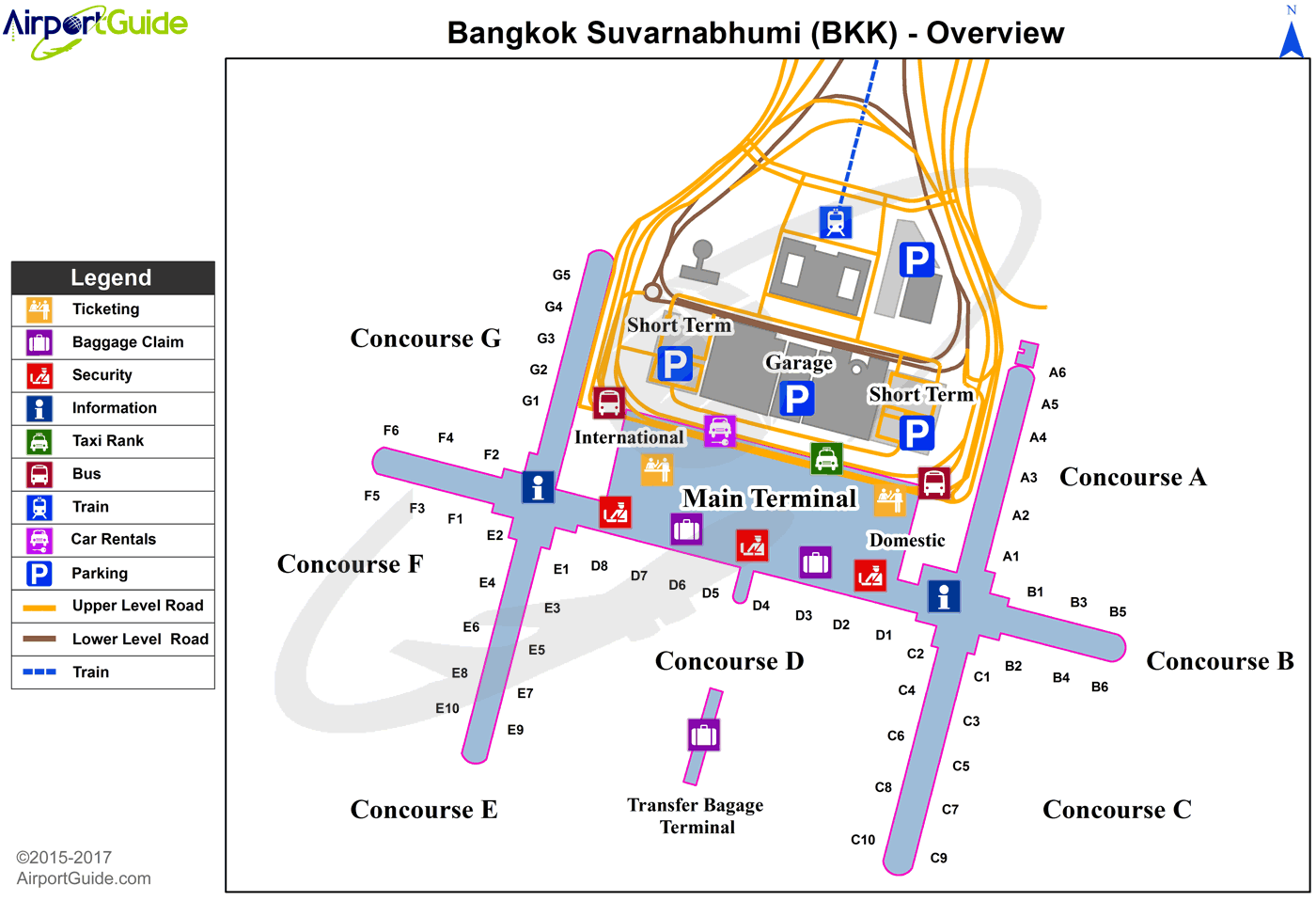 Top 10 Hotels Near Suvarnabhumi International Airport (BKK