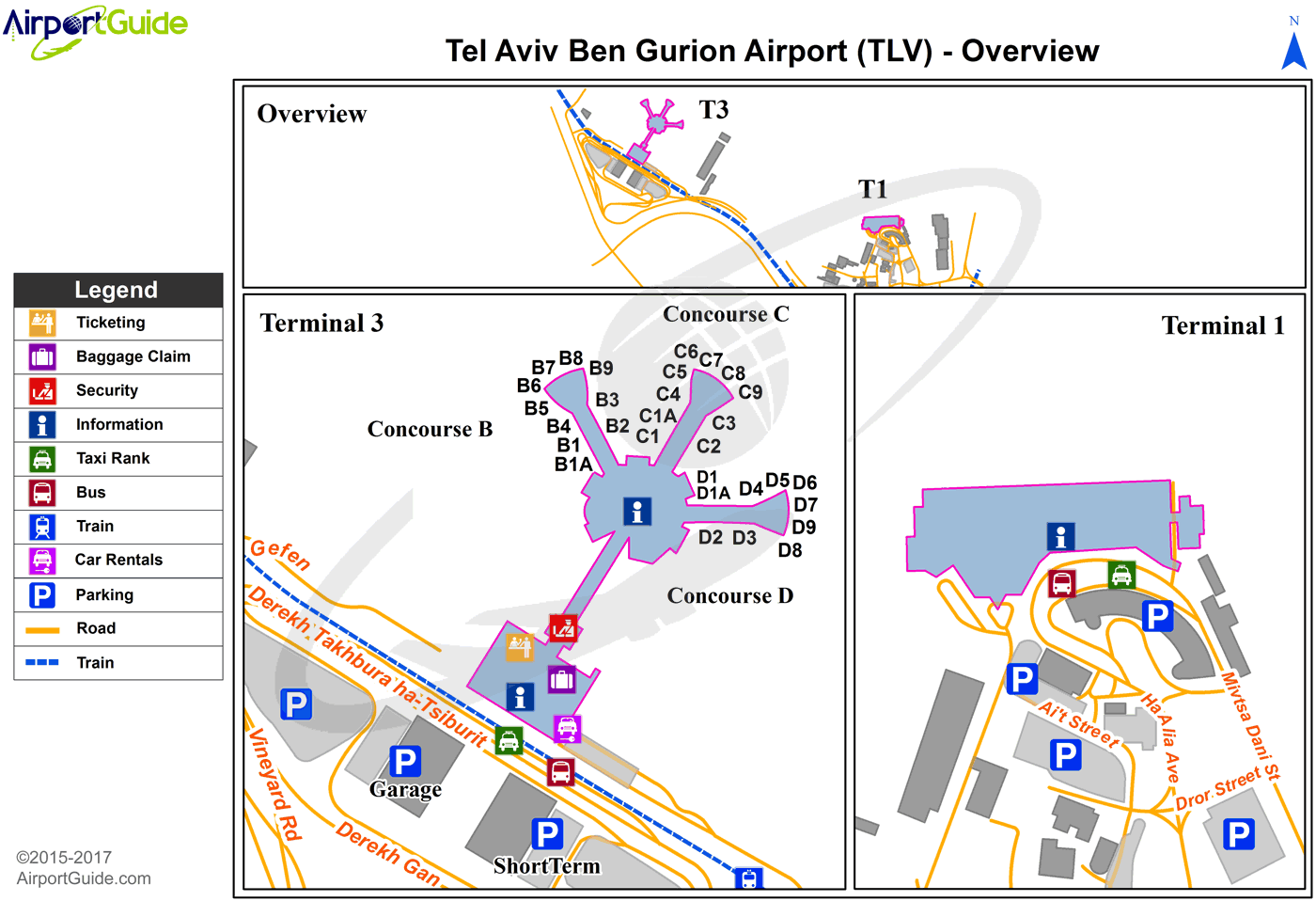 Ben Gurion International Airport Llbg Tlv Airport Guide