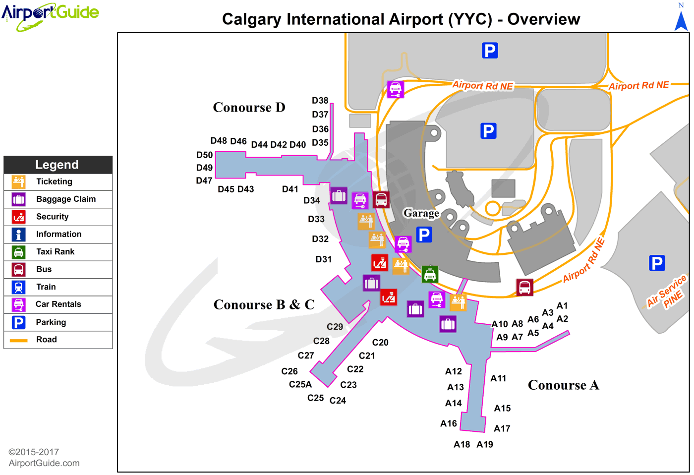 Car Hire Vancouver Airport To Calgary Airport